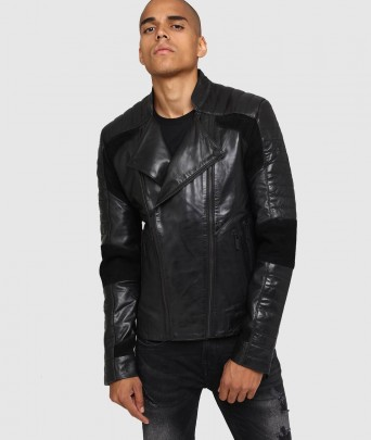Veste en cuir MAIN UNIFY