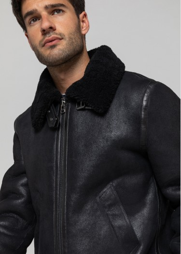 Blouson cuir REAGAN QUEENSTOWN