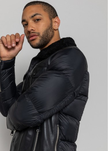 Leather jacket SILVERS SHYNE
