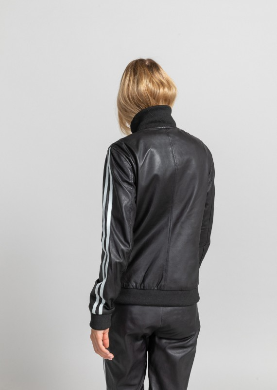Leather jacket SIMON SISLEY
