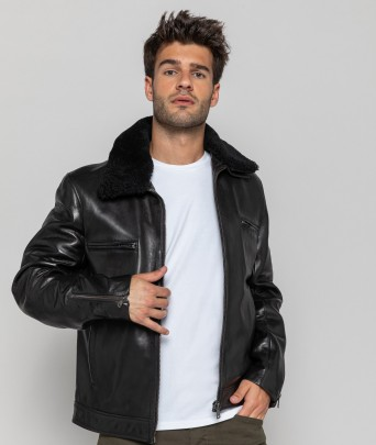 Blouson cuir STEED EAGLE