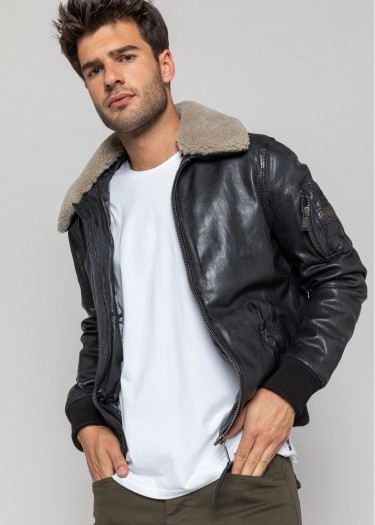 Leather jacket WATFORD WONDER