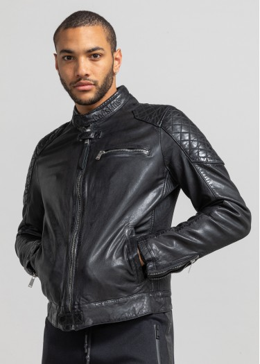 Leather jacket RIVER CALISTA