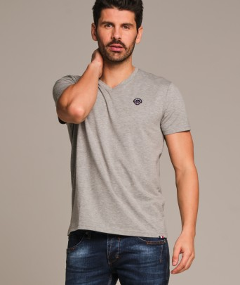 T-shirt en coton BIG NINE CALDER