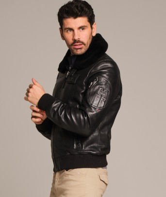 YCON leather jacket