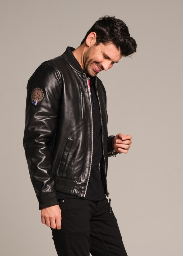Leather jacket RICK ALPHA