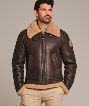Leather jacket MISTRAL QUEENSTOWN