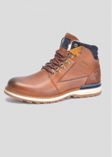 Leather boots TIVOLAN