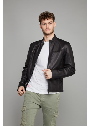 Leather Jacket MIAMI SISLEY