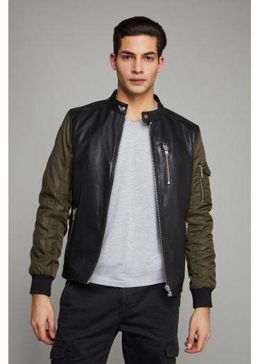 Leather Jacket RIVALITY ARMADA
