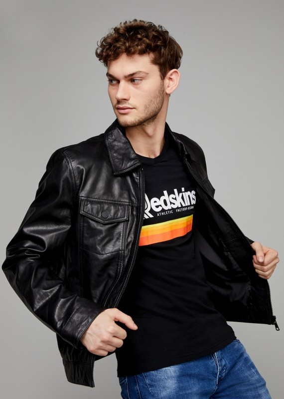 Leather Jacket TRUCK CHANCE