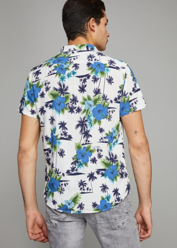 Chemise hawaienne FORCED COOPER