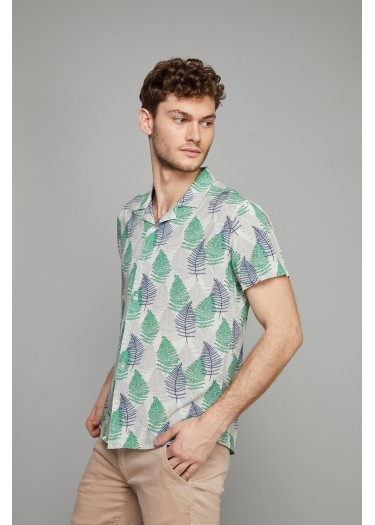 Camisa hawaienne MEZZA RUBY