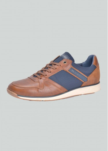 Leather sneakers CORELAN