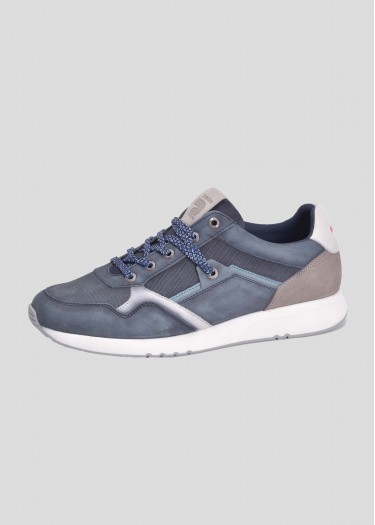 Leather sneakers YMAN