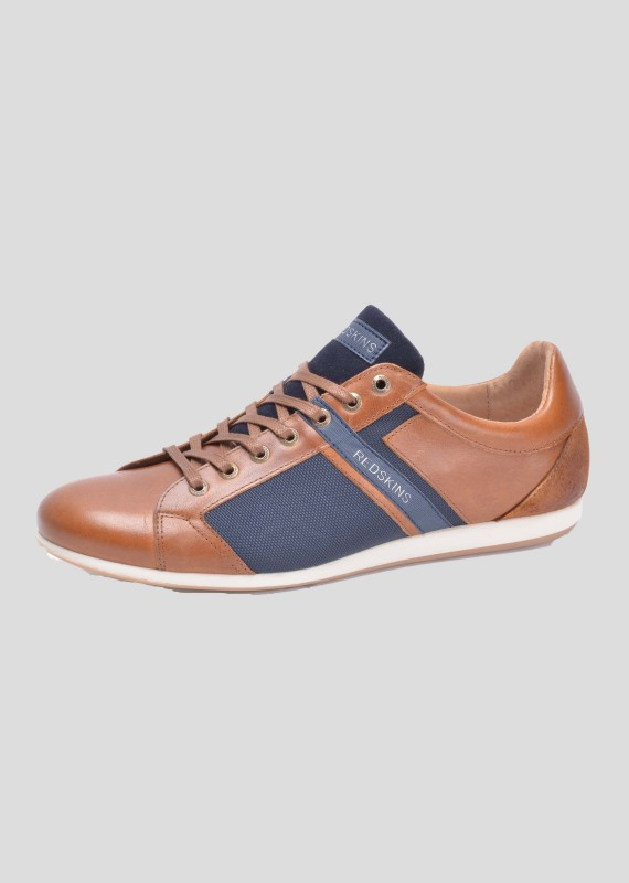 Leather sneakers WASEKO