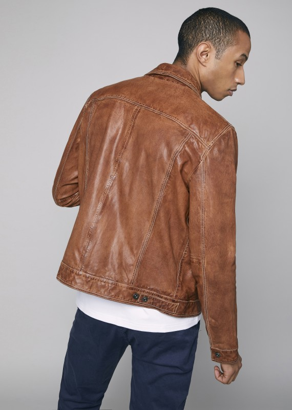 Leather Jacket DIESEL RETRO