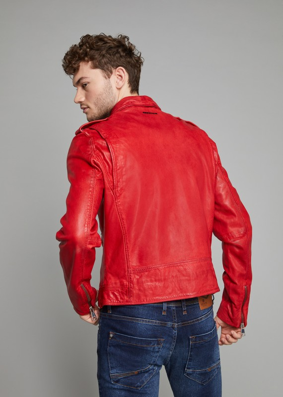 Leather Jacket SPEEDSTER RETRO