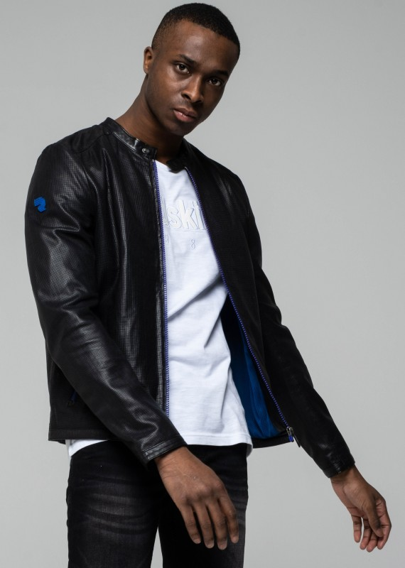 Blouson en cuir AIM SEATTLE