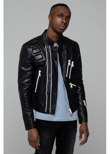 Leather jacket KAYMAN PALOMA