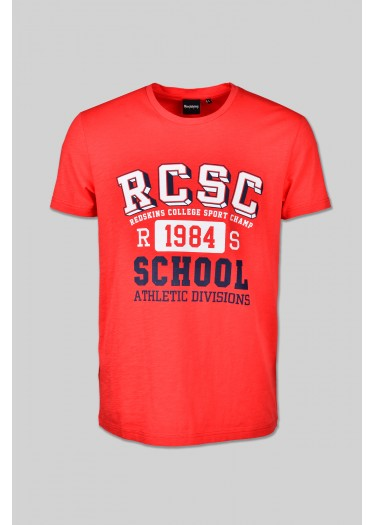 Tee shirt SCHOOL FLAMES