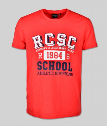 T-shirt SCHOOL FLAMES