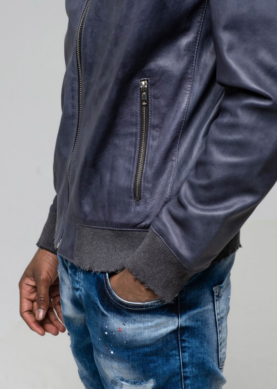 Leather jacket TEGEN MAIN
