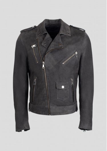 Leather jacket SPEEDSTER JUNGLE