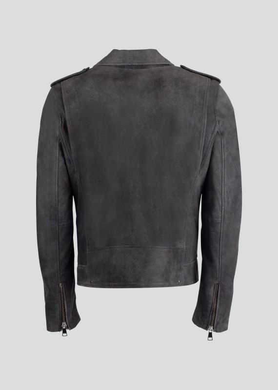 Blouson en cuir SPEEDSTER JUNGLE