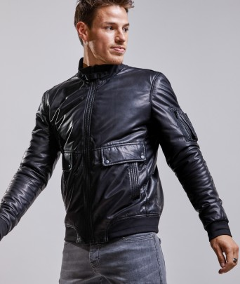 Leather jacket  JET TRITON