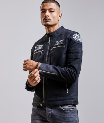 Blouson en cuir LUTHER FOSCO