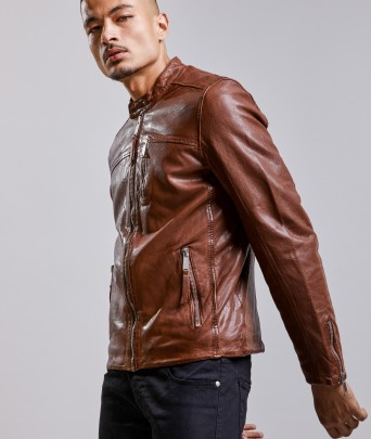 Leather jacket MELROSE WONDER