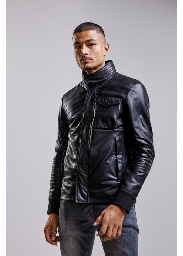 Leather jacket  STORM TRITON