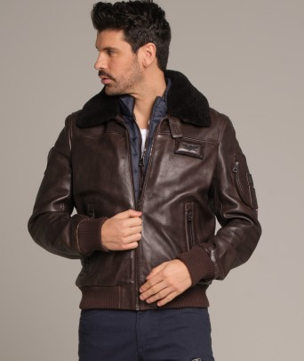 Leather jacket RAFAL YCON