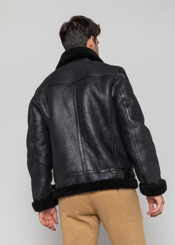 BLOUSON en cuir REAGAN QUEENSTOWN