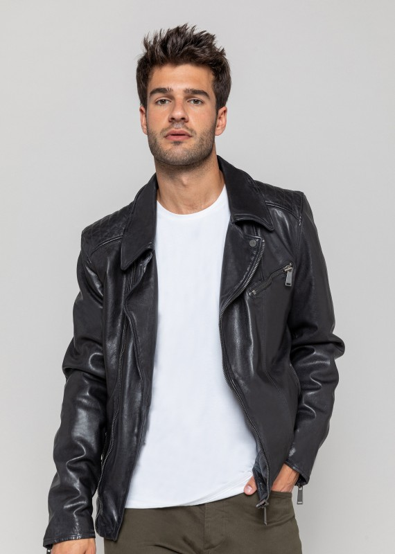 BLOUSON en cuir SCOTTY WONDER