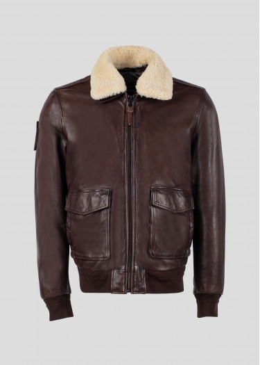 Leather jacket  DOUGLAS ALPHA