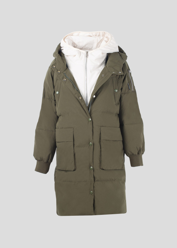 Down jacket MOSS CALLE
