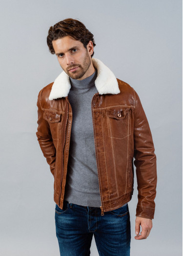 Leather jacket  PATROL RETRO