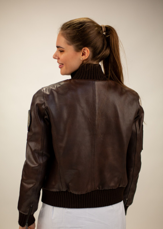 Leather jacket  TODD ALPHA