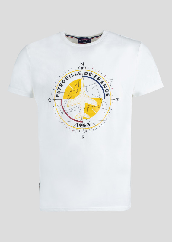 T-shirt COMPASS TRIM