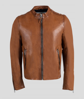 Leather FAISSE GREEN