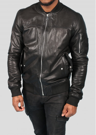 Leather Bombers  MONEY MUSTANG