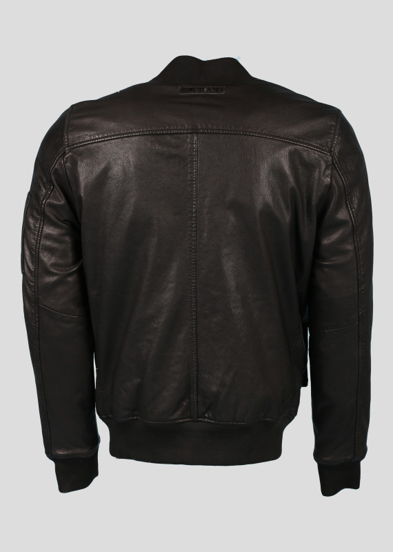 BOMBERS en cuir MONEY MUSTANG